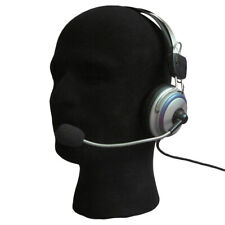 Female/Male Flocking Fabric Foam Head Model Headset Glass Hat Wig Display Stand