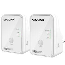 Wavlink 500 Mbps wireless a Internet Adattatore Ethernet KIT DI RETE POWER LINE