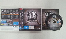guitar hero metallica ps3