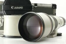 【Exc+++++】 Canon New FD 500mm f/4.5 L Telephoto Lens w/ Case & Hood From Japan
