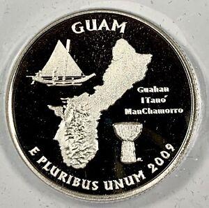 2009-S United States Guam Quarter - ANACS PR70 DCAM