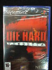 Die hard Vendetta de Vivendi para la Sony Play Station 2 PS2 usado completo