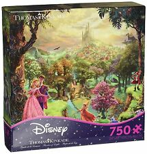 Sleeping Beauty Thomas Kinkade Disney Dreams Collection Jigsaw Puzzle 750pc