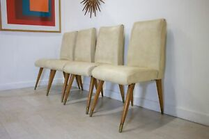 DELIVERY £60 Mid Century Retro Teak Maple and Co Dining Chairs G W Evans