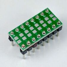 5pcs SMD/SMT Components 0805 0603 0402 to DIP Adapter PCB Board Converter E41