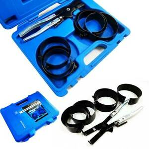 7PC Piston Ring Compressor Cylinder Installer Ratchet Pliers Ideal Motorcycle