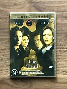 The X Files The Truth Series Finale DVD, Region 4 - As New