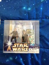 Star Wars Anakin Skywalker Figure & Cup Set Hasbro Attack of the Clones