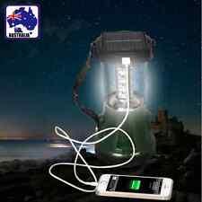 Solar Rechargeable Light LED Fishing Lantern Lamp Camp Outdoor OLAMP5779+EPLUG01