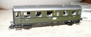 F25  Fleischmann 5071 K Personenwagen  Donnerbüchse  2. Klasse  DRG