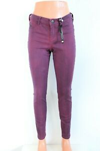 Maison Scotch BNWT 99 Violet Leggings Compatible Avec Super Skinny Jean Size W27
