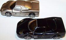 2 vintage pre- owned Mini Car Shaped Refillable Butane Cigarette Cigar Lighters