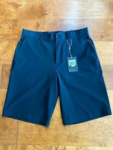 Nike Golf Mens Dri-Fit Tour Performance 4 Pocket Stretch Shorts Dark Blue 32 M