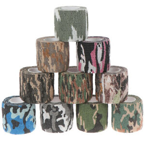 1Pc Outdoor Camo Gun Hunting Waterproof Camping Camouflage Stealth Duct T.RI