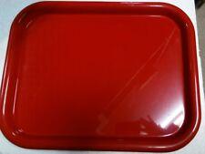 vassoio Alessi rettangolare acciaio colorato 5006.52 rosso o giallo