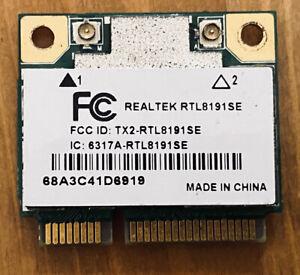 RealTeK  Wireless Wi-Fi Card Model- RTL8191SE, WN6602LH V01, 68A3C41D6919 (12)