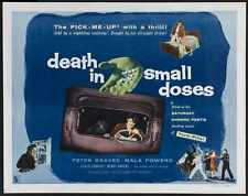 Death In Small Doses Poster 03 A3 Box Canvas Print