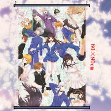 Scroll Poster Home Cosplay Anime Fruits Basket Otaku Decor Wall Gift 60×90cm #B2