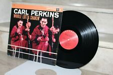 Lp . carl perkins - whole lotta shakin'  (CL 1234) reissue
