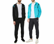 EMPORIO ARMANI 3ZPV01 EA7 Mens Tracksuit Full Set Hooded Sweatshirt & Bottom