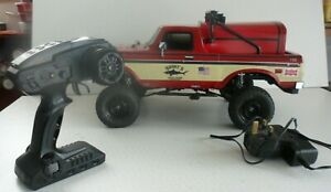 Carisma  Radio Controlled 2.4 Ford F150 Pick Up Truck 1:10 scale. Custom Made