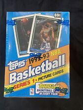 Topps 1992-93 NBA Basketball Series 1  Factory Sealed Box Michael Jordan Gold