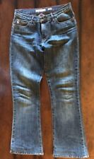Miss Sixty Women's Jeans Size 29 Tommy Bootcut Mid Rise Zip Fly - Made In Italy