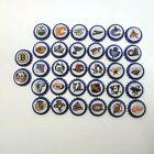 Lot of 32 NHL Beer Caps