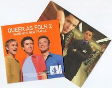 [BEE GEES COVER] QUEER AS FOLK 2 SAME MEN NEW TRACKS~2000 UK 34-TRACK 2 x CD SET