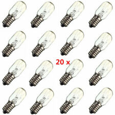 20 x Sale Lampada Globo Luce, Frigorifero, E14, 15 Watt, 220-240v Nuovo