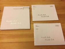 ULTRA RARE Audi S4 V8, A4 Quattro Press Info Brochure + 48 Page Press Photo Book