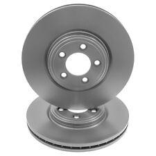 Front /& Rear Brake Discs Compatible With Jaguar XF 2.7d 01//08-08//09