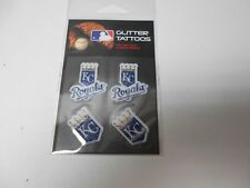 Kansas City Royals Glitter Tattoos 4 per pack. Pretty neat!  #599