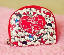 Cute Red Hello Kitty&My Melody ID Credit Card ID Card Holder Business Card Case