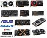 GTX 10 60 70 80 TI Asus Gigabyte MSI Gaming Video Graphics Card 3 8 11 GB MINI