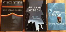 Lot of 3 books by William Gibson