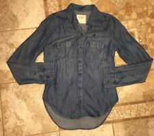Abercrombie And Fitch Womens Button Down Shirt Top Size XS