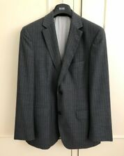 $1,590 Hugo Boss Black Label Made In Germany Fine Wool Suit EU48 US38