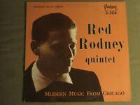 RED RODNEY QUINTET MODERN MUSIC FROM CHICAGO LP '56 FANTASY 3-208 OJC-048 NM-