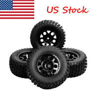 US 12mm Hex 1:10 Scale RC Short Course Truck Tire & Wheel For TRAXXAS SlASH