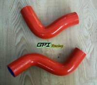 silicone radiator hose kit fit Subaru Forester SF 1998-2002 2000 2001 99 00 red