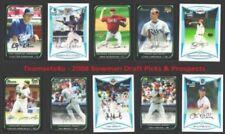 Bowman Not Authenticated 2008 Season Baseball Cards