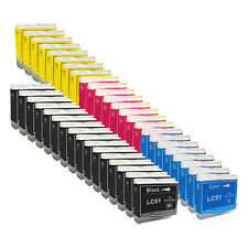 40+ PACK LC51 HIGH YIELD LC51 LC-51 Ink Cartridge Compatible for BROTHER Printer