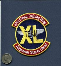 47th FTW Flying Training Wing USAF Pilot Training Squadron Patch