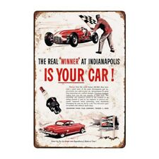 Metal Tin Sign WINNER IS YOUR CAR Bar Pub Home Vintage Retro Poster Cafe ART
