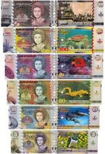 Fantasy Banknotes PITCAIRN ISLANDS SET 500-100-50-20-10-5 POUNDS NEW