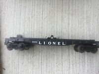 Lionel Lines O Scale Post War Auto Load Flat Car - No Load Item 6424 B61