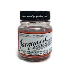 1/2 Oz Deep Orange Jacquard Acid Dyes Feathers Wool cashmere alpaca non-bleeding