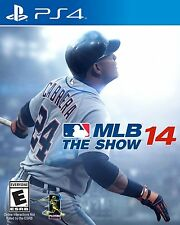 PS4 JUEGO MLB 14: The Show Major League Béisbol 2014 Producto NUEVO