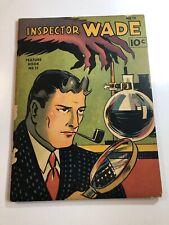 Feature Book 13 Inspector Wade -(1938) Mckay